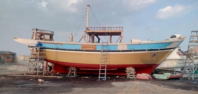 Fishing Boats in Karachi