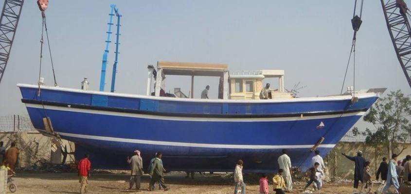 Fishing Trawler in Karachi