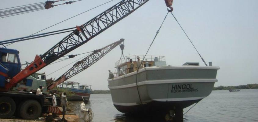 Petroleum Boat in Karachi