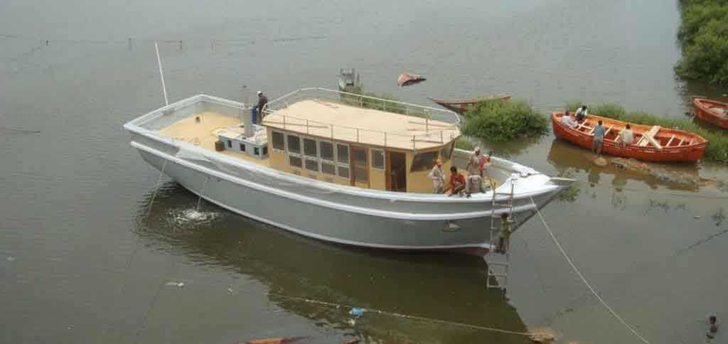boat builders in Pakistan